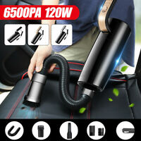 6500PA 120W Portable Wired Car Vacuum Cleaner Handheld Vaccum Cleaner Wet &