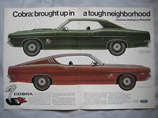 1969 Ford Cobra Original advert