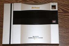 NIKON COOLSCAN 8000 ED Slide & Film scanner face plate