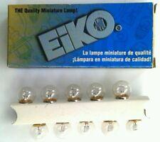 Eiko 1895 G4.5 Miniature Bayonet 14V 10 Light Bulbs NEW