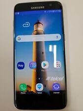 New listing Samsung Galaxy S7 Edge, G935F, 32Gb,Black Unlock, Cracked Screen,Back Door :Z152