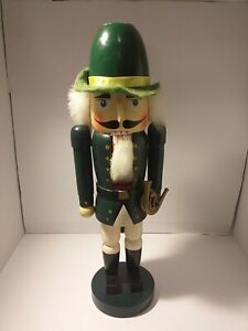 Vintage nutcracker soldier 34cms Tall