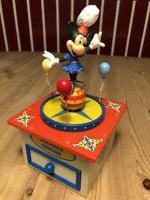 "Walt Disney ""Schmid"" Mickey Mouse Minnie ❤️Mickey's Circus Music Box Spieluhr🎵"