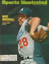 LOS ANGELES DODGERS MIKE MARSHALL 1974 SPORTS ILLUSTRATED 2X ALL STAR CY YOUNG