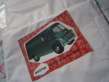 Catalogue voiture  pub auto prospectus Austin LD-M20 et M30 Vans camionnette