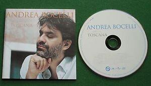 Andrea Bocelli Cieli Di Toscana inc Melodramma / Chiara + CD