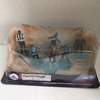 Disney Store Captain Marvel Figurine Playset Cake Topper 6 Action Figures New