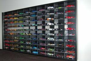 Hot Wheels Mattel Tomica Model Display Case Wall Mount Cabinet 1 64 72 87 Shelf