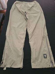 Helly Hansen Helly Tech Waterproof Breathable Equipe Ski Pants Beige Large *Read
