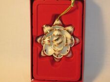 Lenox Ornament All Wrapped Up 3.2 Inches Mib