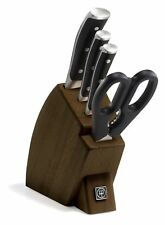 Wusthof Classic Ikon Five Piece Studio Block Knife Set 9595 NEW Auth Dealer