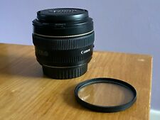 Canon EF 50mm f/1.4 USM Lens with Lens Hood & UV Filter - Mint condition!