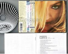 MADONNA GHV2(Greatest Hits Vol.2) JAPAN CD WPCR-12424 w/OBI '06 Japan Tour issue