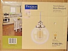 Progress Lighting Penn Collection Mini-Pendant Light Fixture Brand New In Box