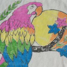 Junk Food Colombia Parrot Destroyed Finish Tri-Blend Destination Retro T-shirt
