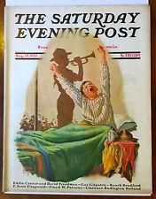 Saturday Evening Post Aug. 15, 1931 Alan Foster Classic Cover Magazine
