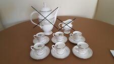 Genuine set 6 tazze caffè c/p Lenox model Bellina perfette  t1