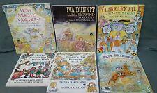 LOT OF 6 STEVEN KELLOGG Childrens Books Favorite Titles Famed Author Illustrator
