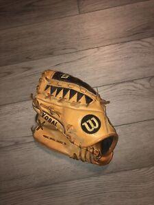 Mens Wilson A2000 Pro Stock Dual Hinge LHT Lefty Pitcher Baseball Glove 11.75 LT