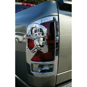DODGE RAM BIG HORN 1500 CHROME TAIL LIGHT COVERS 2009-2019