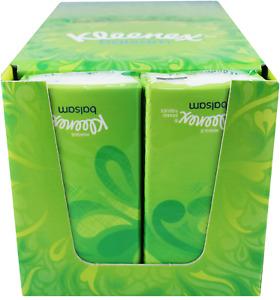 Kleenex Pocket Size Balsam Tissues 18 Packs Sheets Balm Care Soft Paper