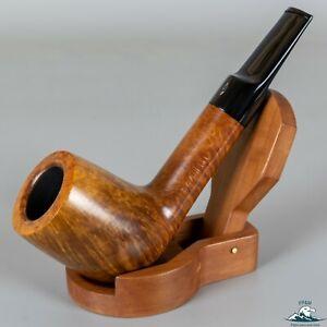 Savinelli Linea Piu 2 Smooth Lovat Sitter Saddle Stem Straight Grain 9mm