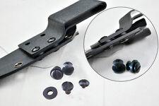 50pcs Black Kydex Holster screw Chicago screw Tek-lok buckle Mounting screws