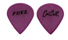 Fuel Guitar Pick ! 2000 Tour - Carl Bell signature picks purple jazz