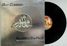 BAD COMPANY Run With The Pack 1976 OZ Swan Song g/fold VG++/VG+