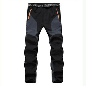 Outdoor Men's Warm Snow Ski Snowboard Pants Waterproof Hiking Climbing Trousers