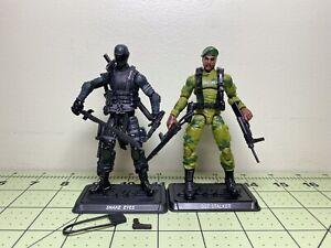 GI Joe Retro Collection 2021 Snake Eyes Stalker Loose Complete 3.75 Inch Figures