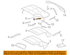 FORD OEM Thunderbird Convertible/soft Top-Weatherstrip Seal Right 1W6Z7651564AD