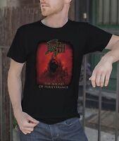 Death Men Black T-Shirt Death Metal Band Tee Shirt The Sound Of Perseverance