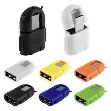 CAVO OTG ADATTATORE MICRO USB MASCHIO A USB FEMMINA Per ANDROID Samsung S4 S3