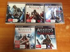 PS3 Assassin's Creed Collection 5 Games - 1, 2, 3 Revelations & Brotherhood
