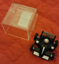 Cheatwell Games FORMULA UNO Table Top Racer, PULL-BACK IN PERSPEX Box-Nero Auto