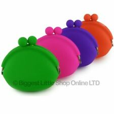 Soft Silicone Clasp Coin Purse Funky Handy Gift Night Out Smooth