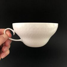 Rosenthal China Romance White Flat Tea Cup Set Of 6 Excellent Condition Cups