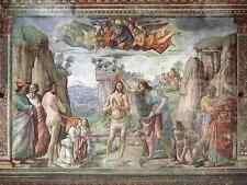 Ghirlandaio Domenico Baptism Of Christ 1486 A3 Box Canvas