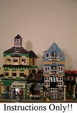 GET 100+ LEGO INSTRUCTIONS like MODULAR COFFEE SHOP - 10182 Cafe Corner