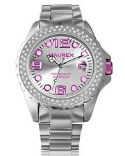 Haurex Rhinestone Emebllished Quartz Analogue Women's Watch