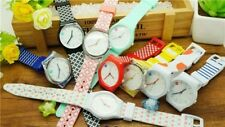 Bulk Women Student girl's Gifts 10pcs Simple design Silicone sport Watches SW1