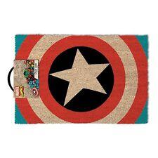 Fussmatte Fußmatte Abtreter Marvel Captain America Fan Artikel Fußabtreter Nerd