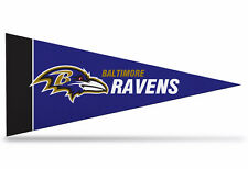 "New NFL Baltimore Ravens Mini Pennant  9""x4"" (22 x 9 1/2 cm) Made in USA  Banner"
