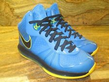 2011 Nike Lebron 8 V/2 SZ 9 Entourage Blue Yellow South Beach James 429676-401