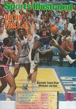 7/23/1984 Sports Illustrated-Michael Jordan-USA Olympic Team-Game Ticket 7/12/84