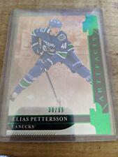 2019 Artifacts Hockey Elias Pettersson Emerald /99