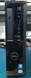 Dell Vostros 260s Desktop, Intel Core i3 - 3.3GHz, 4G RAM, 500GB HDD, Win 7 Pro