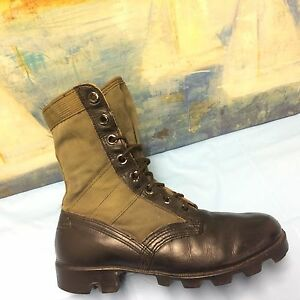 Ro Search Mens 6.5W Army Spike Protective Lace Up Hiking Camp Jungle Boots