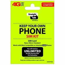 Straight Talk T-mobile Bring Your Own Phone Activation Kit